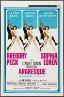 Arabesque movie poster (1966) picture MOV_aac30b48