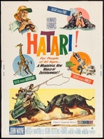 Hatari! movie poster (1962) picture MOV_aac5a8af