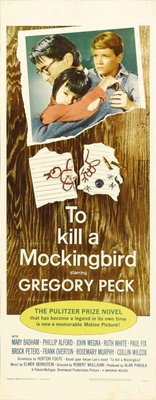 To Kill a Mockingbird movie poster (1962) poster MOV_aae27845