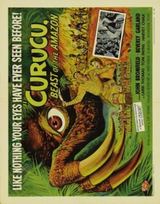 Curucu, Beast of the Amazon movie poster (1956) poster MOV_aae35614