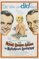 The Notorious Landlady movie poster (1962) picture MOV_ab002bf2