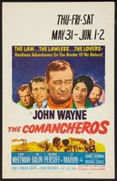 The Comancheros movie poster (1961) picture MOV_ab11fc9d