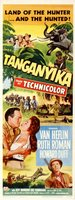 Tanganyika movie poster (1954) picture MOV_ab14179c