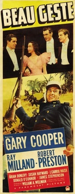 Beau Geste movie poster (1939) poster MOV_ab23383c