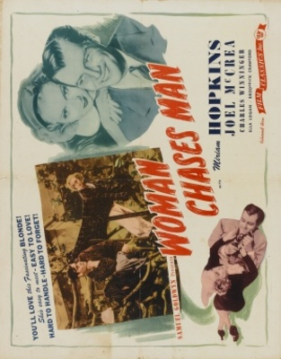 Woman Chases Man movie poster (1937) poster MOV_ab26c842