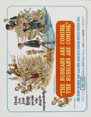 The Russians Are Coming, the Russians Are Coming movie poster (1966) poster MOV_ab28f8ed