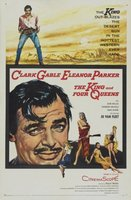 The King and Four Queens movie poster (1956) picture MOV_ab430884