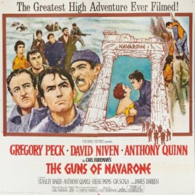 The Guns of Navarone movie poster (1961) poster MOV_ab665107