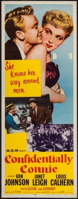 Confidentially Connie movie poster (1953) poster MOV_ab67cb9e