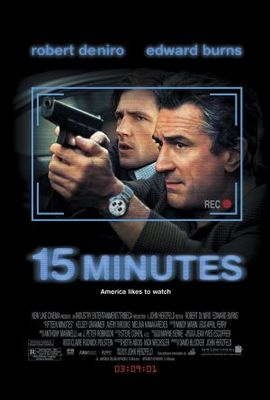 15 Minutes movie poster (2001) poster MOV_ab6e9fa0