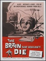 The Brain That Wouldn't Die movie poster (1962) picture MOV_ab768122