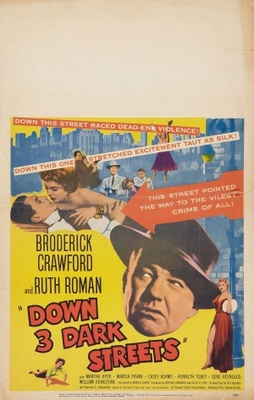 Down Three Dark Streets movie poster (1954) poster MOV_ab91bc37