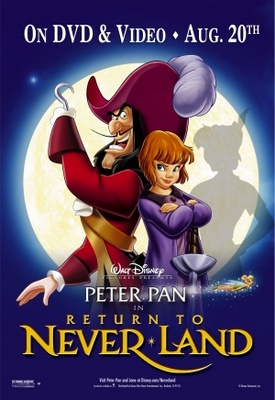Return to Never Land movie poster (2002) poster MOV_ab953308