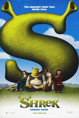 Shrek movie poster (2001) poster MOV_ab9e44f4