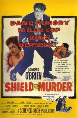 Shield for Murder movie poster (1954) poster MOV_abb461ac