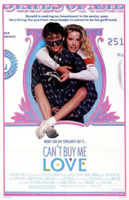 Can't buy me love movie poster (1987) poster MOV_abc23153