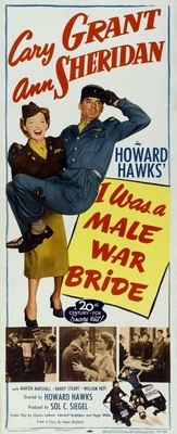 I Was a Male War Bride movie poster (1949) poster MOV_abd36448
