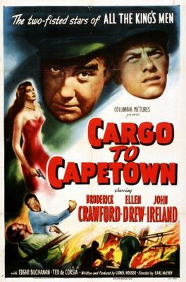 Cargo to Capetown movie poster (1950) poster MOV_abe4c233