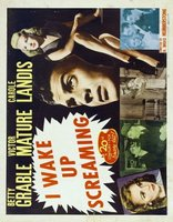 I Wake Up Screaming movie poster (1941) picture MOV_abee18e5