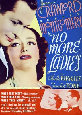 No More Ladies movie poster (1935) poster MOV_abeed3c7