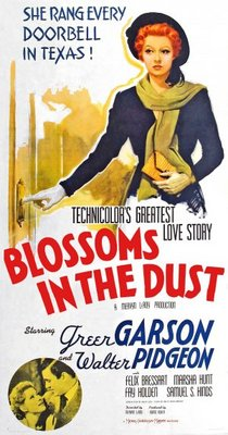 Blossoms in the Dust movie poster (1941) poster MOV_ac000c01