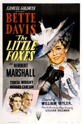 The Little Foxes movie poster (1941) poster MOV_ac0a440e