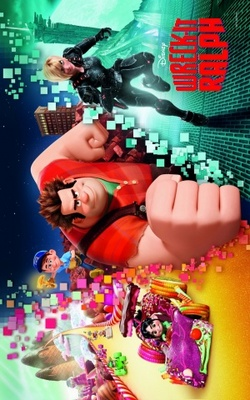 Wreck-It Ralph movie poster (2012) poster MOV_ac1eb7ed