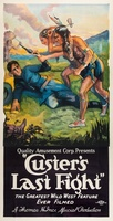 Custer's Last Raid movie poster (1912) picture MOV_ac224d02
