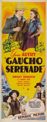 Gaucho Serenade movie poster (1940) poster MOV_ac2d70c1