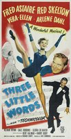 Three Little Words movie poster (1950) picture MOV_ac45053e