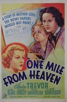 One Mile from Heaven movie poster (1937) picture MOV_ac5d6ae7