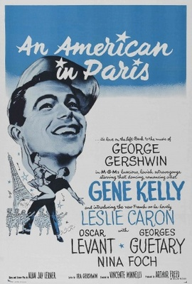 An American in Paris movie poster (1951) poster MOV_ac67a4ff