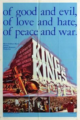 King of Kings movie poster (1961) poster MOV_ac7a07bc