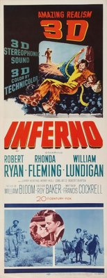 Inferno movie poster (1953) poster MOV_ac834808