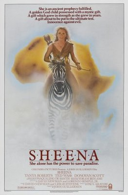 Sheena movie poster (1984) poster MOV_ac86bc38