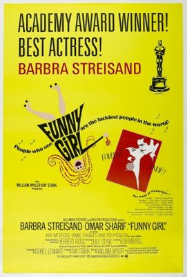 Funny Girl movie poster (1968) poster MOV_ac8b7257
