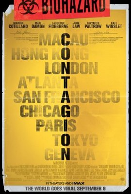 Contagion movie poster (2011) poster MOV_acba9cde