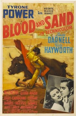 Blood and Sand movie poster (1941) poster MOV_acc0da6e