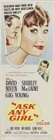 Ask Any Girl movie poster (1959) picture MOV_ace395c4