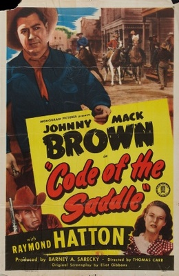 Code of the Saddle movie poster (1947) poster MOV_acf1ea2f