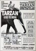 Tarzan Goes to India movie poster (1962) picture MOV_acmzziyg