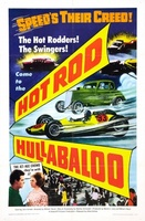 Hot Rod Hullabaloo movie poster (1966) picture MOV_ad068f98