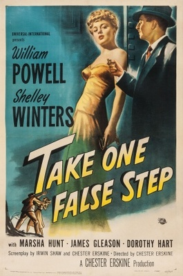 Take One False Step movie poster (1949) poster MOV_ad160141