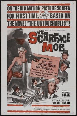 The Scarface Mob movie poster (1959) poster MOV_ad18e435