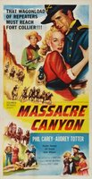 Massacre Canyon movie poster (1954) picture MOV_b8558f51