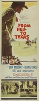 From Hell to Texas movie poster (1958) picture MOV_ad402090