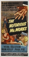 The Notorious Mr. Monks movie poster (1958) picture MOV_ad43782b