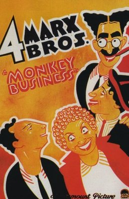 Monkey Business movie poster (1931) poster MOV_ad48599a