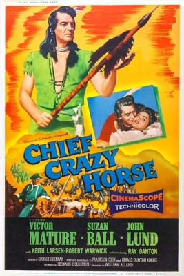 Chief Crazy Horse movie poster (1955) poster MOV_ad84a27d