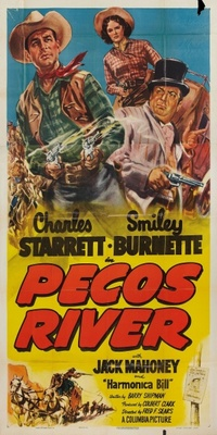 Pecos River movie poster (1951) poster MOV_ad8c2d6f